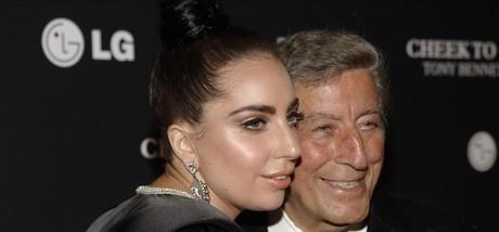Lady Gaga, con Tony Bennett