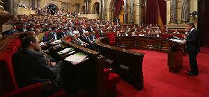 Tercera jornada del debate de pol�tica general del Parlament