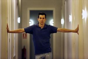 Luis Gonzalo Segura, el tinent que ha airejat les interioritats de lExèrcit, dimecres, a Madrid.