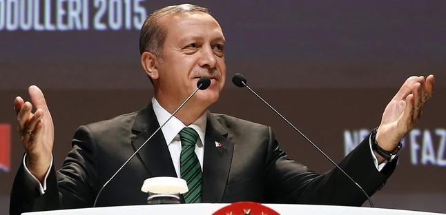 El presidente turco, Recep Tayyip Erdogan, en una ceremonia en Estambul, el 25 de diciembre.