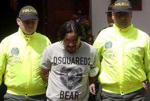 Detienen a alias Tom, uno de los narcotraficantes más buscados de Colombia