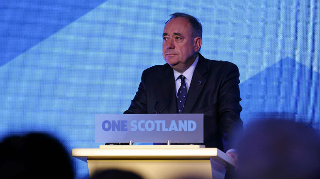"""Salmond: """"Accepto el veredicte i demano a tot Escòcia que faci el mateix"""""""
