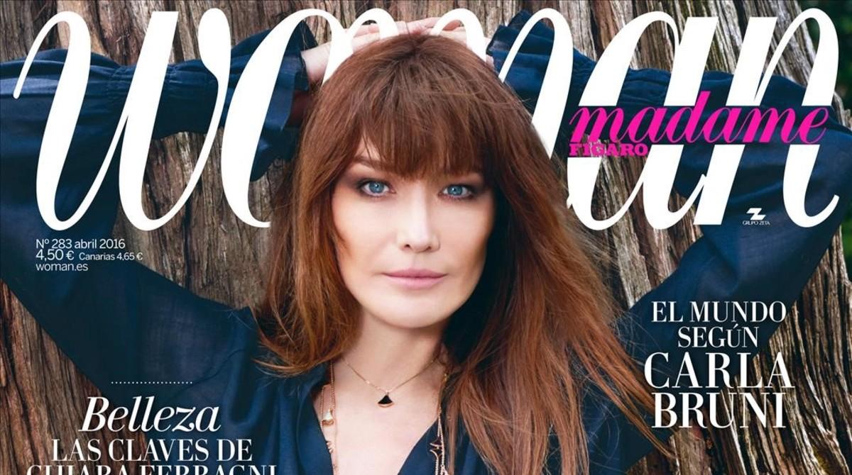 Carla Bruni abre las puertas de su casa para 'Woman Madame Figaro'