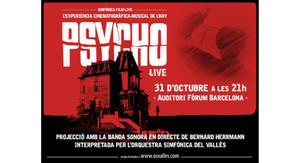 El cartel de 'Psycho Live'