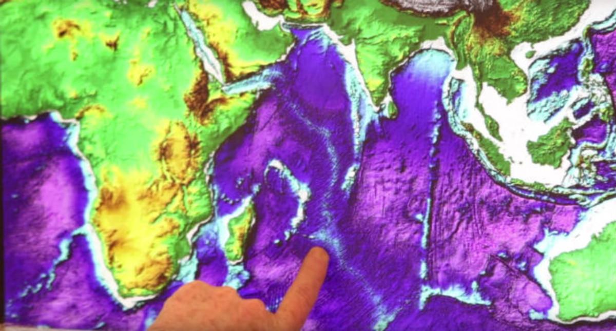 Descobert un 'continent perdut' sota l'illa de Maurici