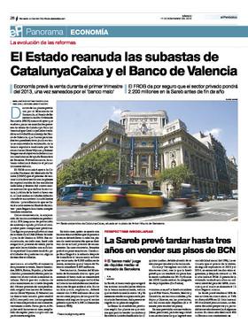 La sareb prev tardar hasta tres a os en vender sus pisos for Pisos sareb barcelona
