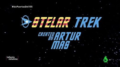 El 'procés' y la serie 'Stelar Trek'