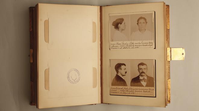 Un libro llamado 'Gabinete antropom�trico del Gobierno Civil' recoge fichas policiales del siglo XIX, que formaron parte de los primeros estudios de la polic�a cient�fica en Catalunya