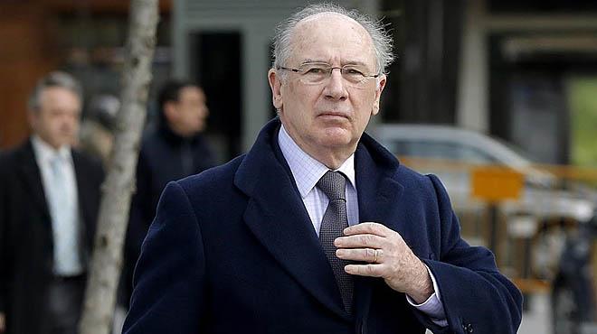 Rato, a su llegada a la Audiencia Nacional, en marzo de este año.