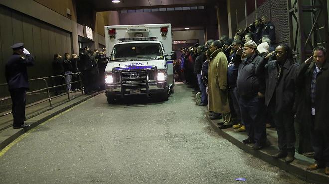 Un hombre mata a tiros a dos policías en Nueva York.