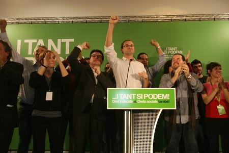 Joan Herrera aboga por una alternativa de izquierdas y celebra el retroceso de CiU