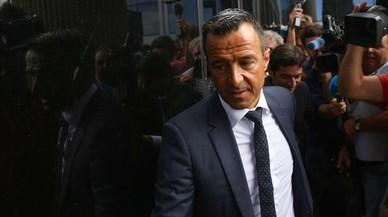 Jorge Mendes declara en calidad de investigado por el caso Falcao