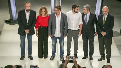 Els candidats catalans aprofiten la jornada de reflexió per relaxar-se en família