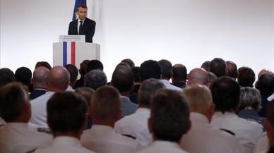 Macron revela que Francia ha abortado 13 atentados desde enero