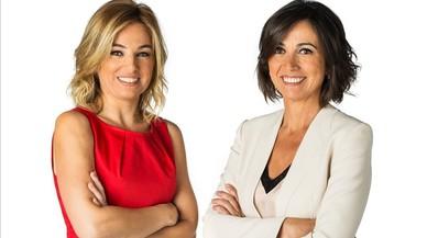 Núria Solé y Lídia Heredia, presentadoras de 'Els matins'.