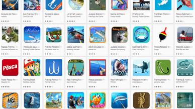 12 apps de pesca más una sobre pescado sostenible