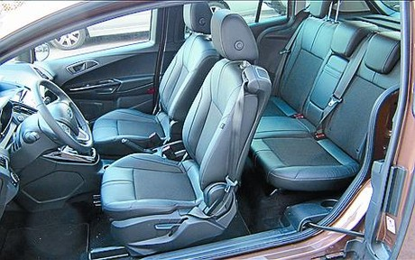 Ford B-Max, un espacio particular