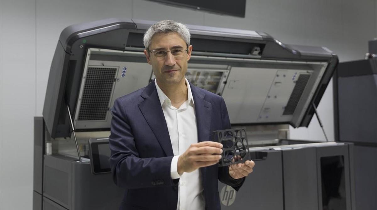 El Centro De Hp De Sant Cugat Crea La Primera Impresora 3d