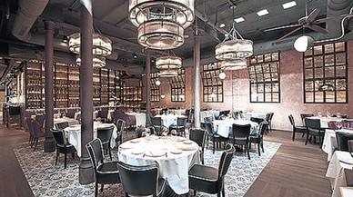 La sala del restaurante Alba Granados.