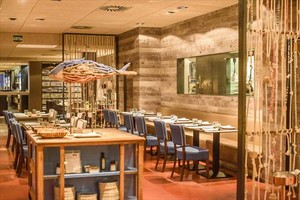 Sala del restaurante Totora.