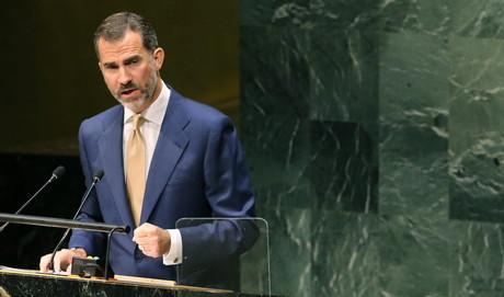 El rey Felipe, en la Asamblea General de la ONU.