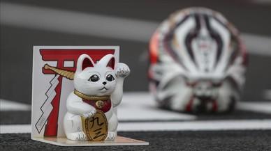 'Maneki Neko', la mascota que va ajudar Márquez