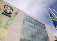 El cuartel de la Confederaci�n Brasile�a de F�tbol en R�o.
