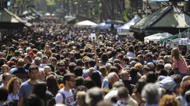 Sant Jordi 2016, en im�genes