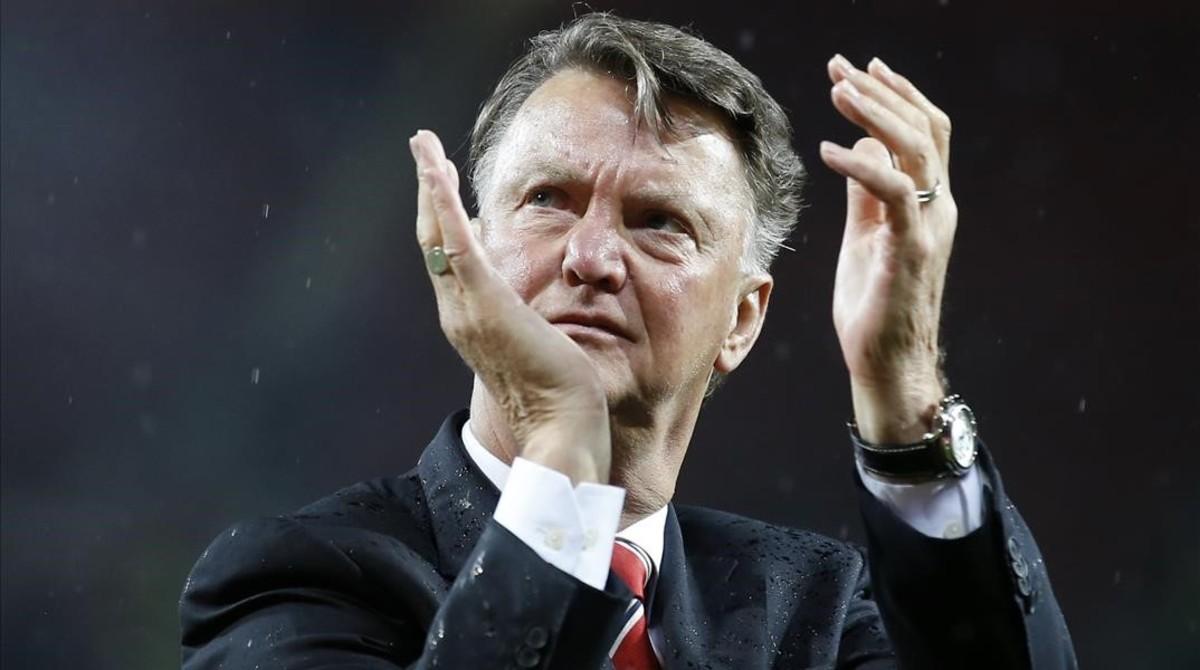 Lo que le cuesta despedir a Van Gaal al Manchester United