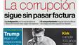 La portada de EL PERIÓDICO del 9 de diciembre del 2016