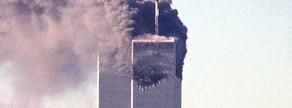 Imatge del segon avió que es va estavellar contra les Torres Bessones l'11 de setembre del 2001.