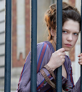 Seydoux, en una escena de su ltimo filme, 'Adis a la reina', estrenado el viernes pasado.