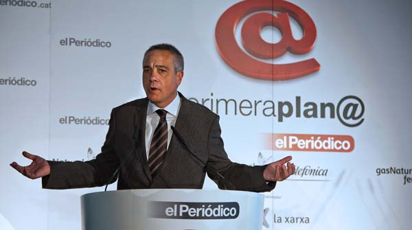 Pere Navarro, en el foro Primera Plan@.