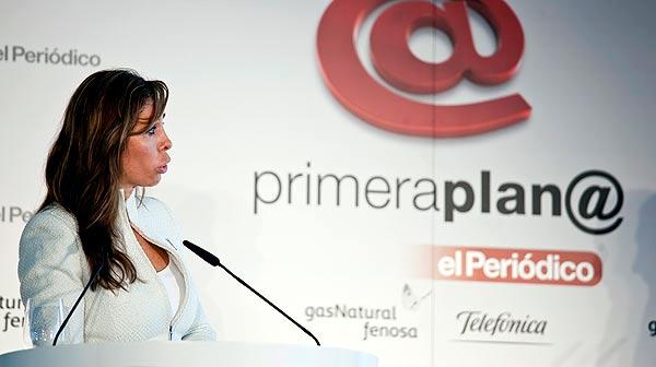 Intervenció d'Alícia Sánchez Camacho, candidata del PPC a la presidència de la Generalitat, al fòrum Primera Plana.