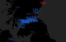 El 'Yes' gana en la red