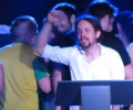 El v�deo de Pablo Iglesias cantando 'La Internacional' se hace viral