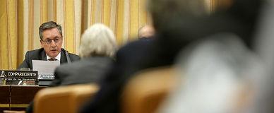 El director de la Agencia Tributaria, Santiago Men�ndez, este martes, en el Congreso.