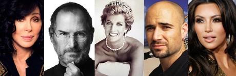 Cher, Steve Jobs, Lady Di, Agassi y Kim Kardashian, nombres famosos de origen armenio.