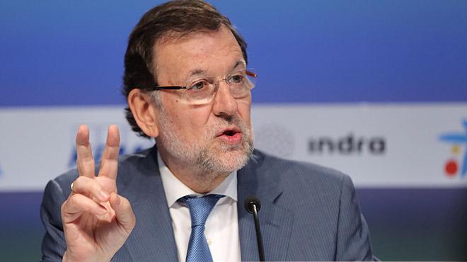 Mariano Rajoy admite errores en la pol�tica econ�mica de suGobierno pero asegura que volver� a ser candidato a la Moncloa.