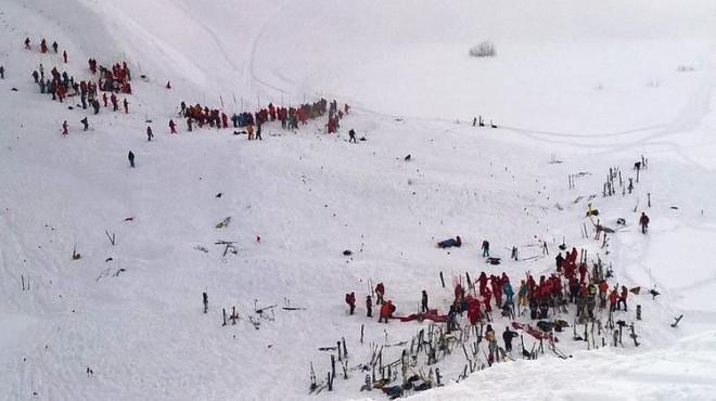 Allau mortal als Alps francesos