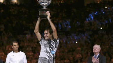 Federer s'emporta la gran glòria davant Nadal