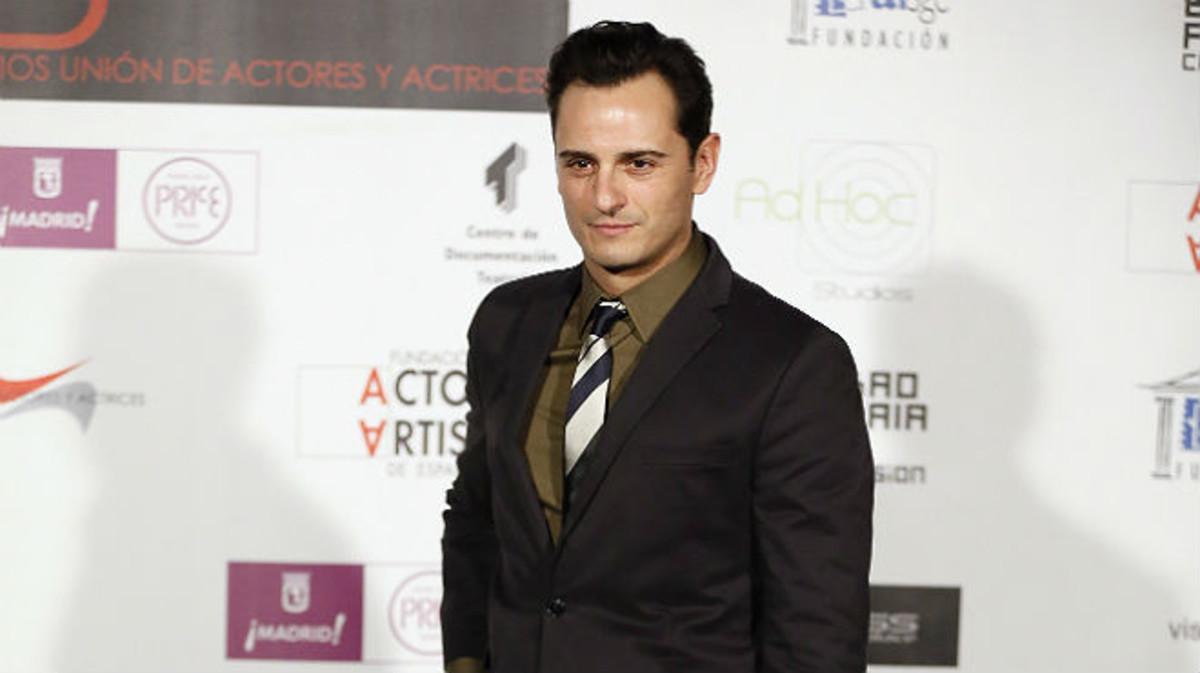 El actor Asier Etxeandia, en una entrega de premios en Madrid, en marzo pasado.