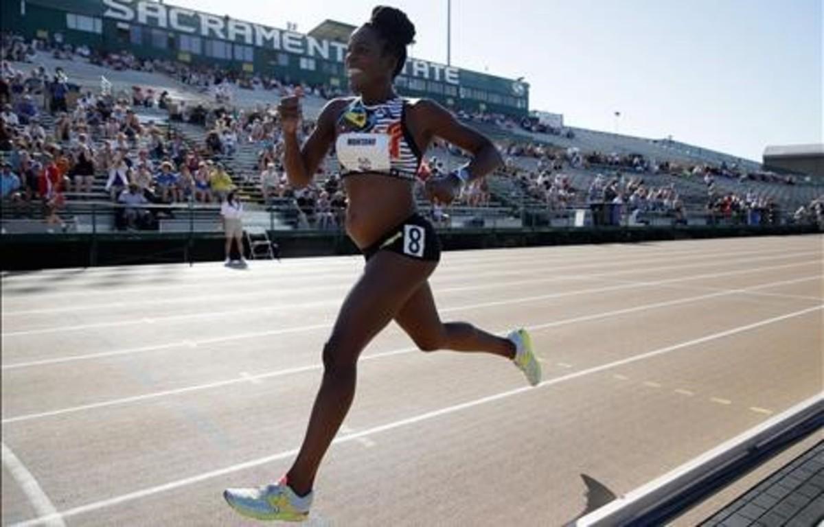 Alysia Montaño, la 'Wonderwoman' que compite embarazada la prueba de los 800 metros
