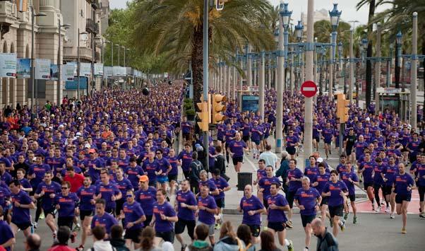 Els Bombers de Barcelona envaeixen els carrers de la ciutat