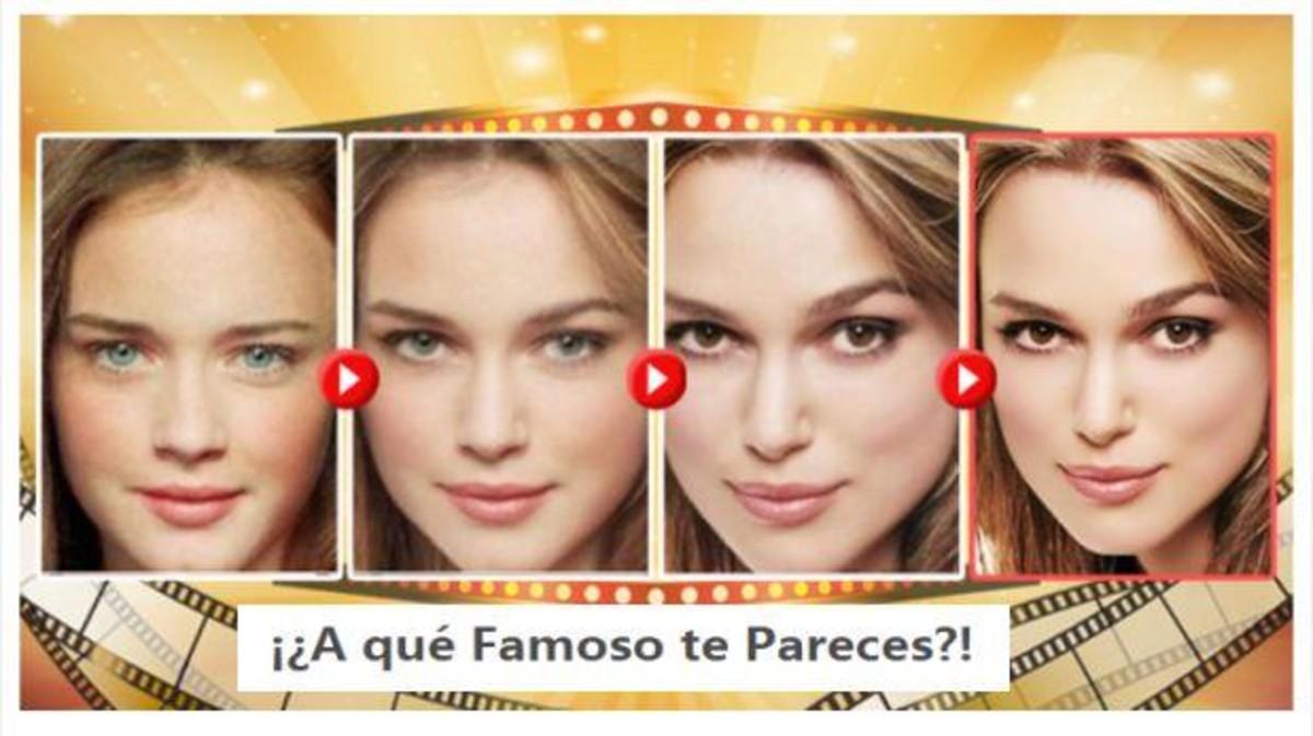 '¿A quin famós t'assembles?', el perillós joc de moda a Facebook