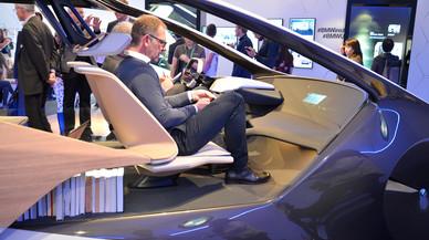 Prototipo de coche eléctrico y autónomo de BMW.
