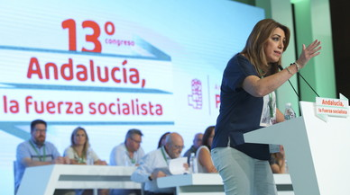 """Díaz avisa Sánchez que """"el PSOE no és nacionalista"""""""