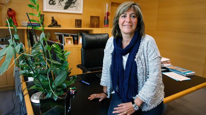 Entrevista con N�ria Mar�n, alcaldesa de Hospitalet del Llobregat