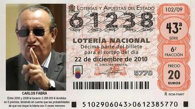 Sant Carlos Fabra i els altres mems sobre la loteria de Nadal