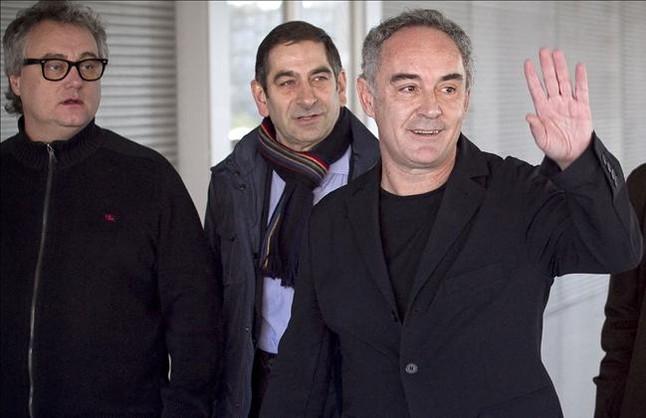 Ferran Adri� no tendr� que pagar nada a su exsocio